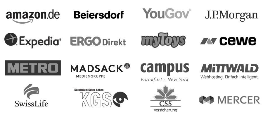 Auswahl von Kunden