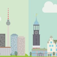 Stadtvergleich Berlin vs Hamburg [Case Study]